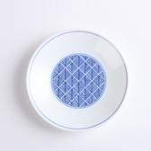 日本晨月圓盤13.5cm 鱗紋