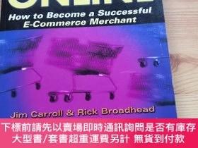 二手書博民逛書店Selling罕見Online How to Become a Successful E-Commerce Mer