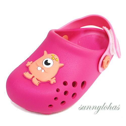 RIDER 巴西 寶寶 運動 洞洞鞋 涼鞋 布希鞋 RI8233420791粉紅色 [陽光樂活]