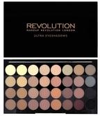 英國 Makeup Revolution FLAWLESS MATTE 32 色全霧面大地色啞光眼影盤