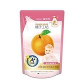 橘子工坊 奶瓶蔬果清洗劑 補充包 430ML/包◆德瑞健康家◆