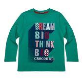 『小鱷魚童裝』長袖圓領色彩繽紛字母T恤(08號~18號)530412