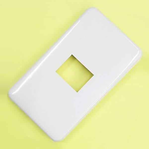 [ 中將3C ]   壁內用蓋板 1孔   WNF-6801