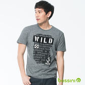 圓領短袖T恤06黑-bossini男裝