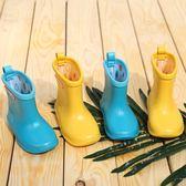 兒童男女寶寶雨靴膠鞋幼兒1-3歲防滑xx11833【Pink 中大尺碼】