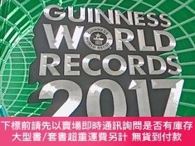 二手書博民逛書店Guinness罕見World Records 2017 (Main Book)【以圖為準避免爭論】Y1876
