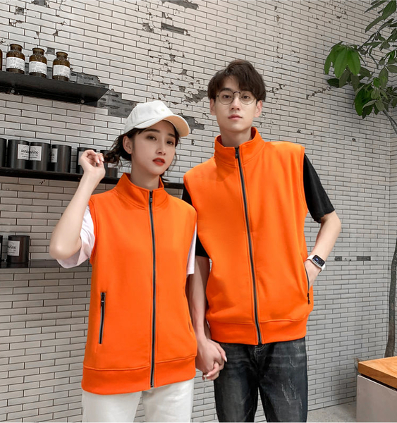 【晶輝團體制服】DX109*搖料絨超保暖素面背心(電腦鏽花印刷免費)公司制服,工程行