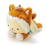 小禮堂 布丁狗 沙包玩偶 柴犬玩偶 絨毛玩偶 中型玩偶 布偶 (淺棕 調皮柴犬) 4550337-57409