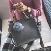 手提包女包包時尚復古休閒小方包單肩側背包小包  蘿莉小腳ㄚ