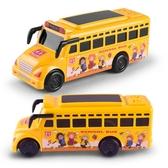 兒童慣性車燈光音樂校車警車回力玩具汽車巴士玩具小汽車WY