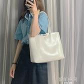 高級感包包洋氣大容量單肩包女2020新款韓版百搭手提包簡約托特包