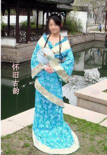 太平公主/古裝/唐裝漢服/影樓攝影/COSPLAY/黃色