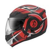 【東門城】ASTONE RT1100 GG20 (平黑紅) 可掀式安全帽 雙鏡片