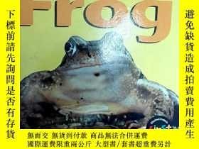 二手書博民逛書店兒童英文原版讀物:Frog罕見(Life Cycle of a