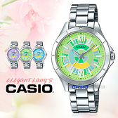 CASIO 卡西歐 手錶專賣店 LTP-E129D-3A 女錶 不鏽鋼錶帶 防水 礦物玻璃