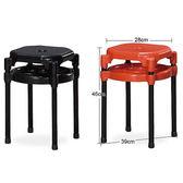 【水晶晶家具/傢俱首選】辦桌最愛雙環鐵管餐椅~~雙色可選SB8384-14