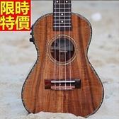 烏克麗麗ukulele-相思木單板23吋四弦琴樂器69x37[時尚巴黎]