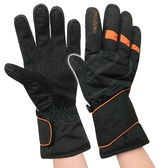 中性防水保暖手套『橘』7346 防風手套.保暖手套.防滑手套.刷毛手套.機車手套