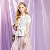 IENA 2021 Spring #1271011 修身綁帶蕾絲剪接上衣