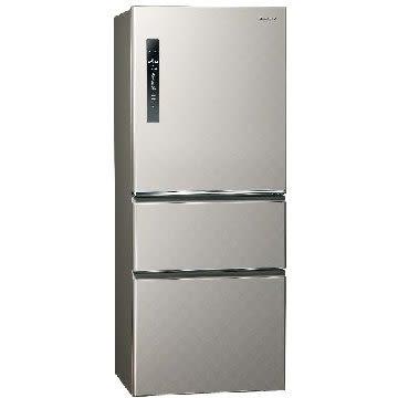 【Panasonic 國際牌】500公升三門變頻冰箱 nr-c500hv-S(銀河灰)