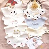 嬰幼兒純棉圍嘴兜寶寶口水巾360度可旋轉新生兒童【聚可愛】
