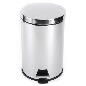 緩降踏式垃圾桶12L-不鏽鋼