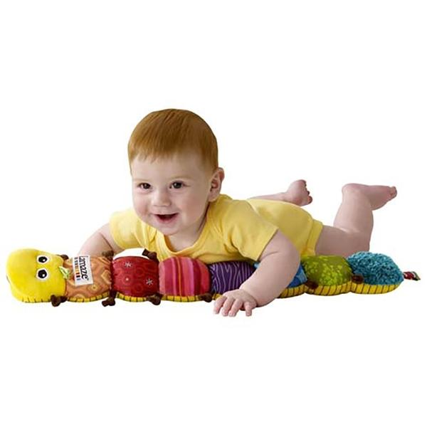 特價 Lamaze拉梅茲嬰幼兒玩具 音樂布蟲尺_LC27107