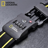 行李箱配件 National Geographic留學旅游出差行李箱打包綁帶加固密碼鎖捆箱 城市科技