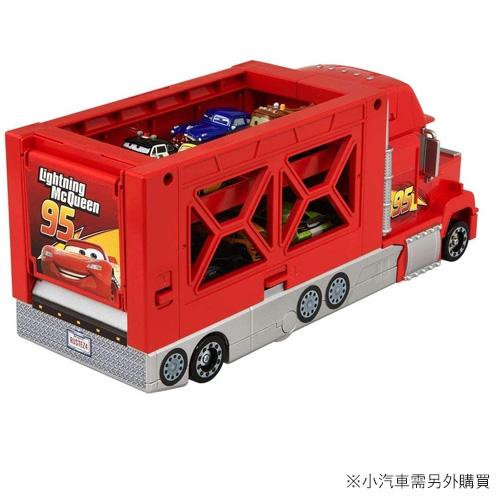 TOMICA CARS 汽車總動員 麥大叔 紅外線遙控收納貨車
