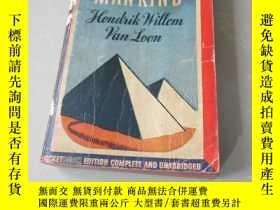 二手書博民逛書店THE罕見STORV OF MANKIND(50開本)Y7052