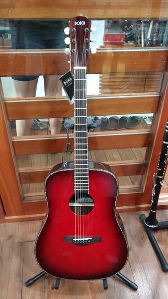 凱傑樂器 DOTCH 41吋 3段EQ 紅色 面單板 民謠吉他
