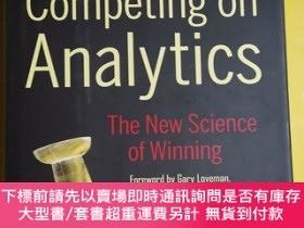 二手書博民逛書店Competing罕見on Analytics: The New Science of Winning 368 奇