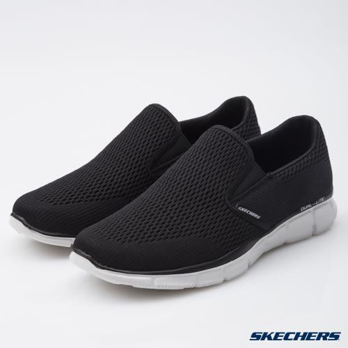 SKECHERS 男鞋 時尚休閒系列 Equalizer 腳套 - 黑51509BKW