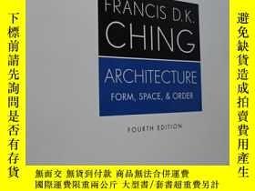 二手書博民逛書店Architecture:罕見Form, Space, and