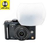 又敗家@uWinka白色神盾超大大80%內閃柔光罩Canon佳能EOS-M3 G3X G1X G1 G3 X Mark II G16 G15 G12 Sony索尼RX100M2