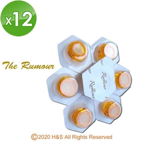 【南紡購物中心】The Rumour 3D水涵晶居家玻尿酸微晶頭(12入)