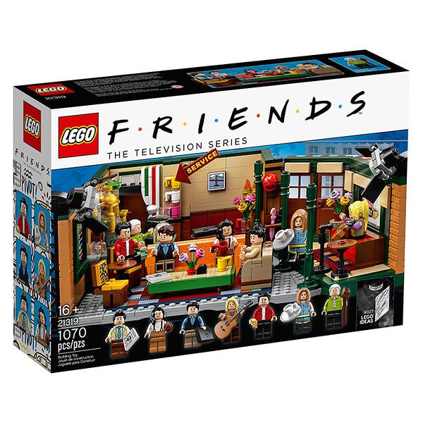 LEGO 樂高 IDEAS系列 21319 六人行 中央咖啡公園館 【鯊玩具Toy Shark】