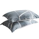 枕頭帶全棉枕套雙人家用枕芯枕套裝學生宿舍單人護頸椎枕一對拍2