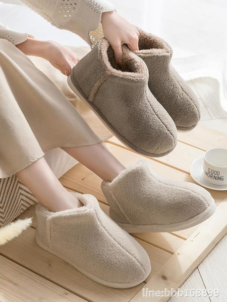 中筒靴 雪地靴女冬季新款ins可愛加絨保暖中筒雪地鞋高筒防滑棉鞋女 星河光年