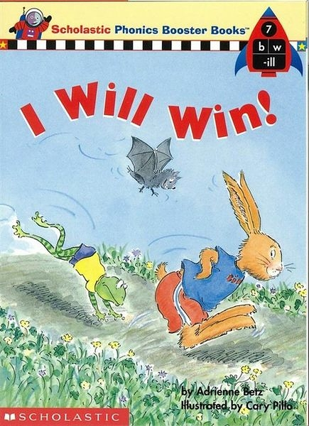 Phonics Booster Books 07: I Will Win!
