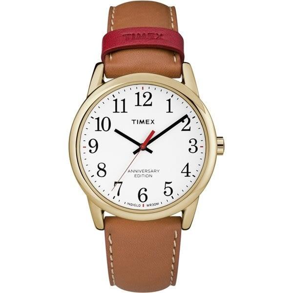 TIMEX 天美時(TXTW2R40300) 時尚 冷光 女錶/金/30mm