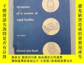 二手書博民逛書店advanced罕見dynamics of a system of rigid bodies(P1417)Y1