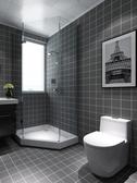 地貼 衛生間廚房防水地貼浴室陽台自黏牆貼耐磨瓷磚貼紙臥室地板貼紙
