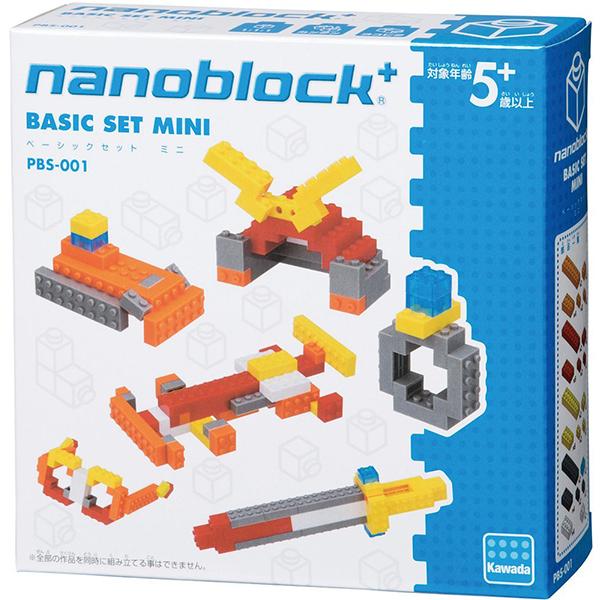 【日本 Kawada 河田】Nanoblock 迷你積木 Plus系列 BASIC SET 迷你基本組 PBS-001