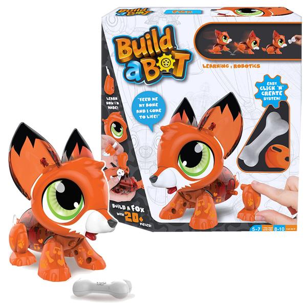【P&P GAMES】可愛機甲獸 Build a Bot-狐狸 BB16449
