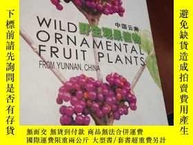 二手書博民逛書店(英漢對照)中國雲南野生觀果植物罕見[Wild Ornament