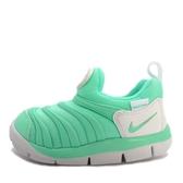 Nike Dynamo Free TD [343938-309] 小童鞋 慢跑 運動 休閒 舒適 透氣 毛毛蟲 綠白