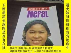 二手書博民逛書店INSIGHT罕見GUIDES Nepal 洞察力指南尼泊爾Y2
