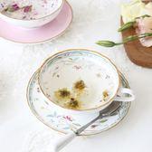 週年慶優惠-英歐式杯具碟子套裝復古咖啡紅茶杯