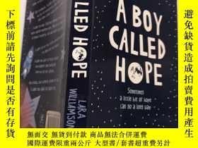 二手書博民逛書店A罕見Boy Called Hope :一個叫霍普的男孩Y200392